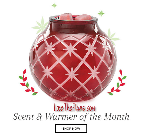 Scentsy Christmas Candle Warmer Christmas Glow November