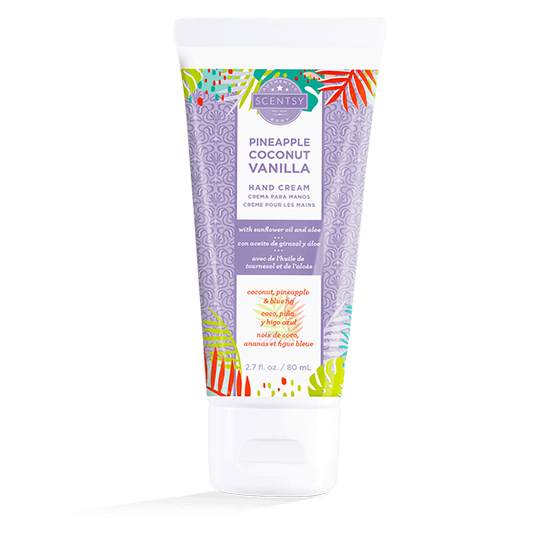 Pineapple Coconut Vanilla Hand Cream