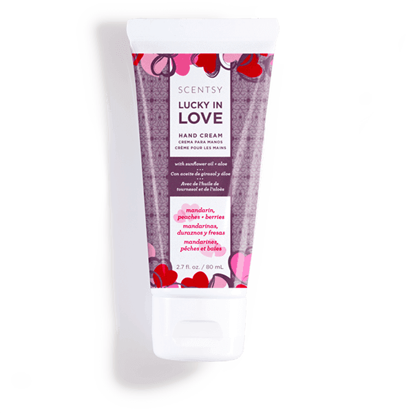 Scentsy Lucky in Love Hand Cream