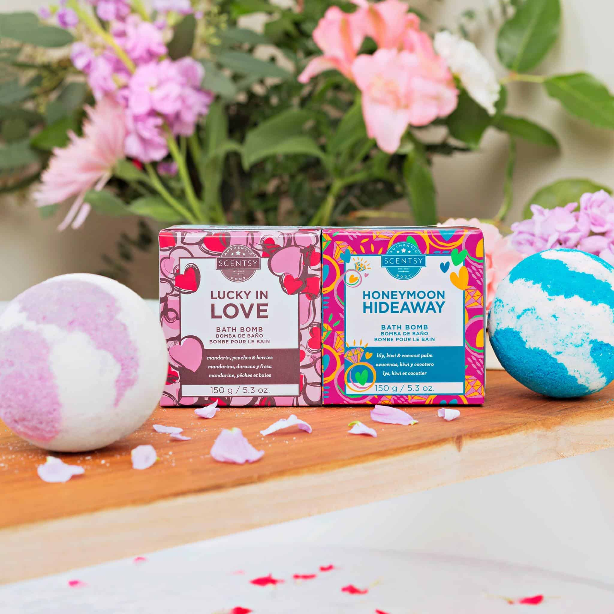 Valentines day special bath bombs