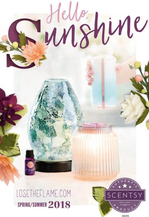 scentsy new catalog spring summer