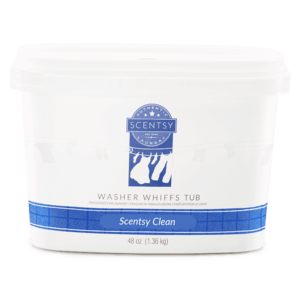 Scentsy Clean Washer Whiffs Tub
