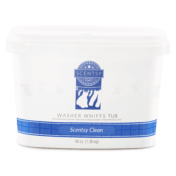 scentsy clean washer whiffs