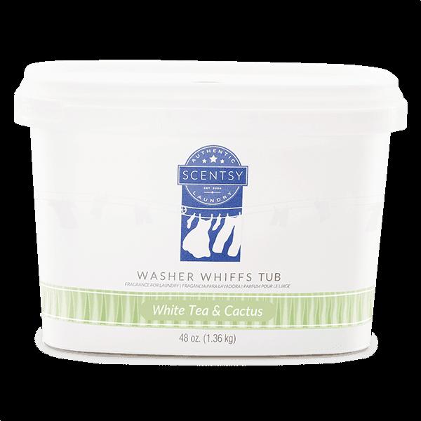 White Tea & Cactus Washer Whiffs Tub