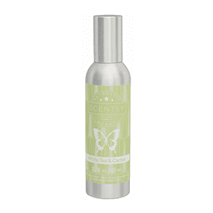 scentsy white tea cactus spray