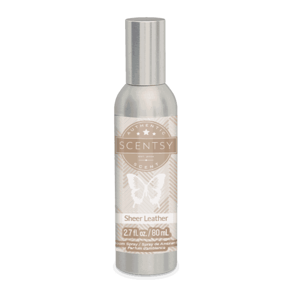 Sheer Leather Room Spray