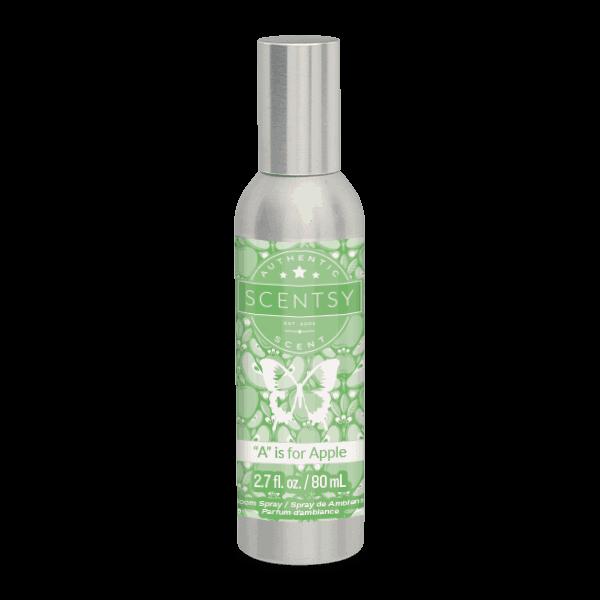 scentsy apple room spray