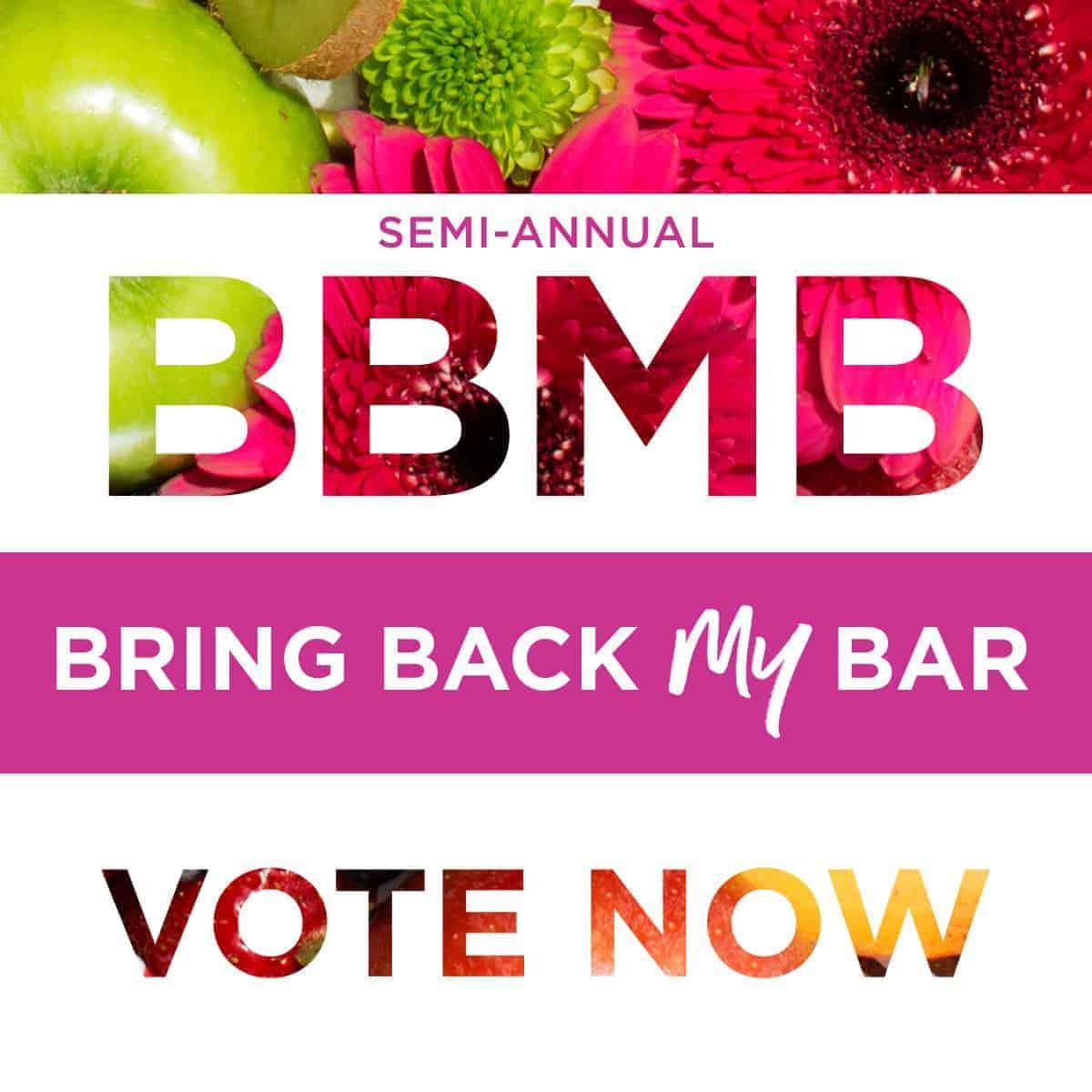 Bring Back My Bar 2018