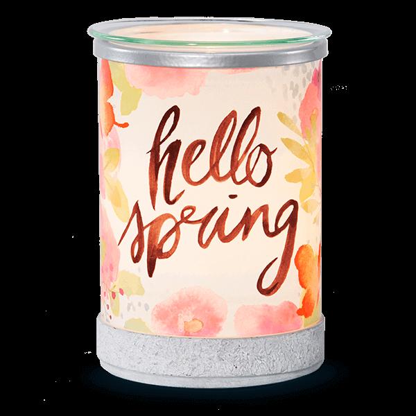 scentsy hello spring warmer