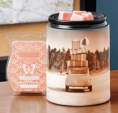 Scentsy Pack Your Bags Warmer