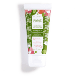 hand cream sea salt avocado