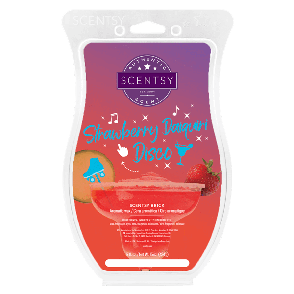 scentsy strawberry daiquiri disco
