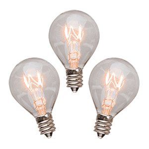 20 Watt Light Bulbs – 3 Pack
