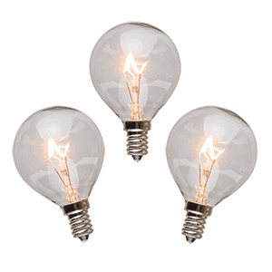 25 Watt Light Bulbs – 3 Pack