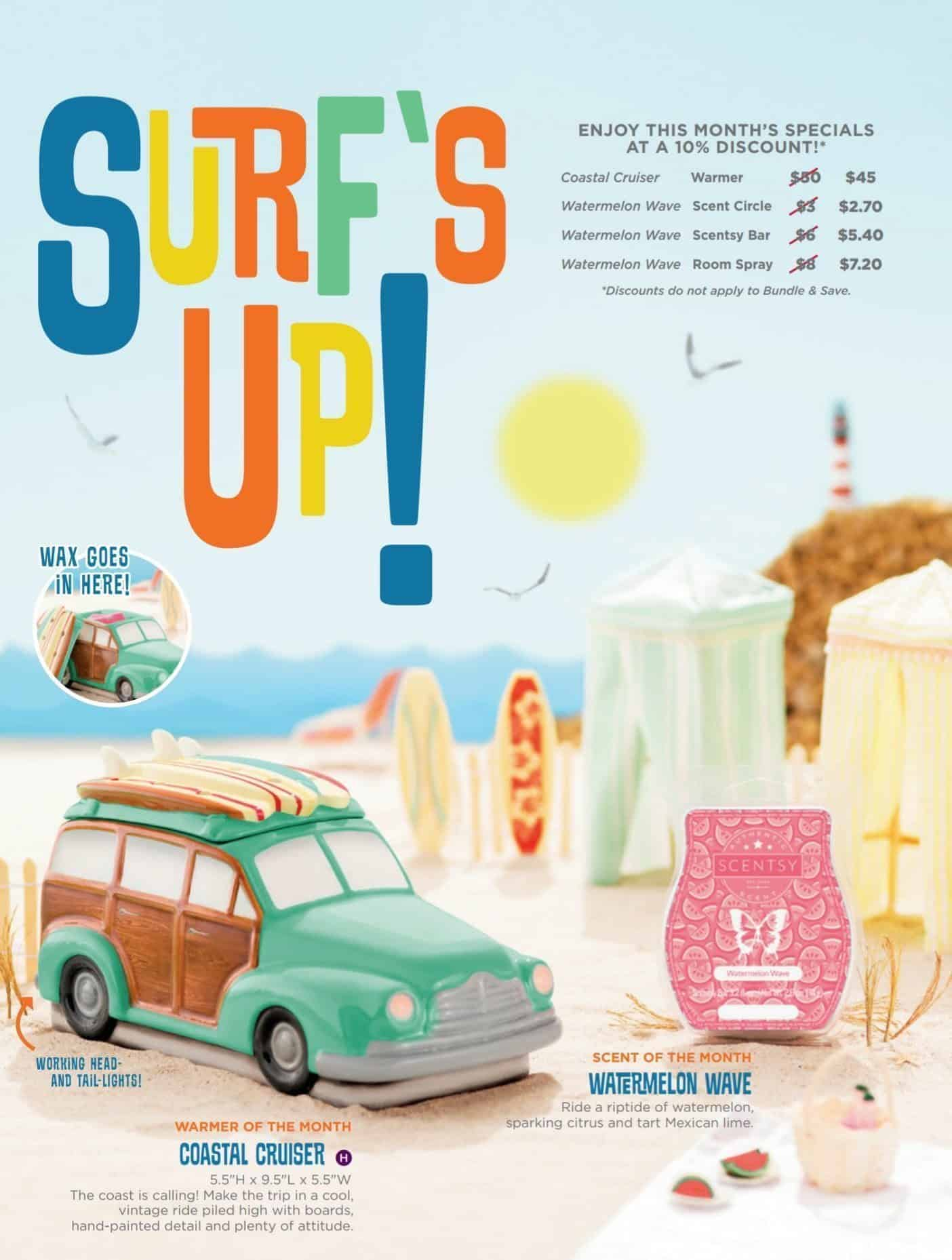 Scentsy Surf Car