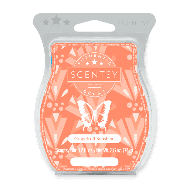 scentsy grapefruit sunshine bar