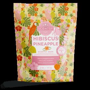 hibiscus pineapple soaks