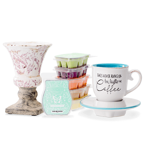 Scentsy System With $40 Warmers