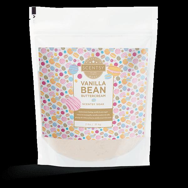 Scentsy Soaks – Vanilla Bean Buttercream