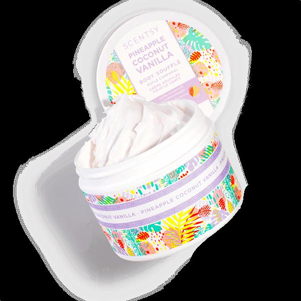scentsy body cream coconut
