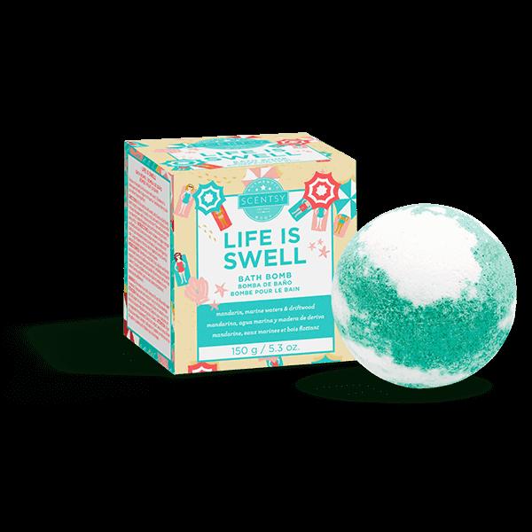 Life Is Swell Bath Bomb