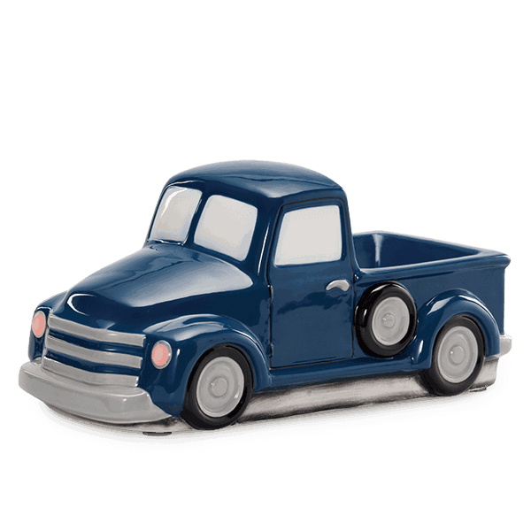 Retro Blue Truck Warmer