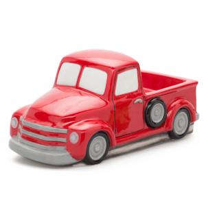scentsy truck red vintage