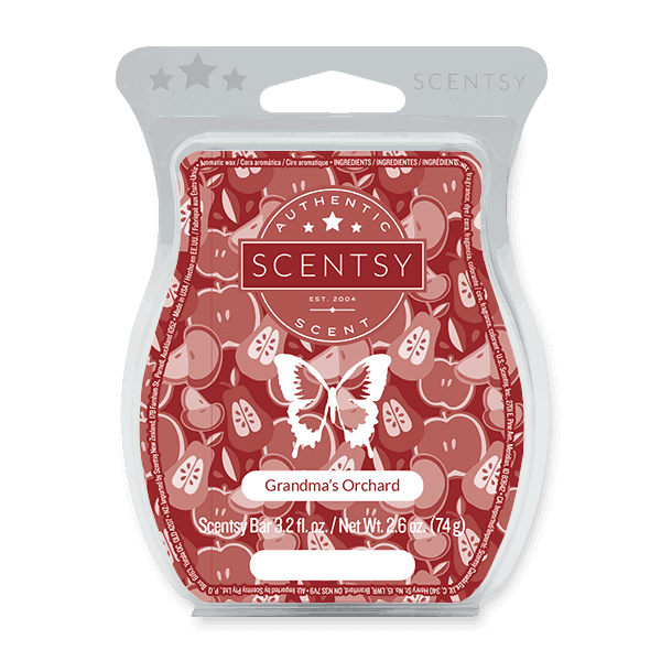 scentsy apple orchard wax bar