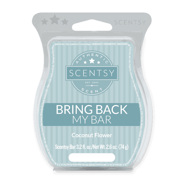 scentsy store coconut flower