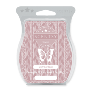 Scentsy cozy cardigan bar