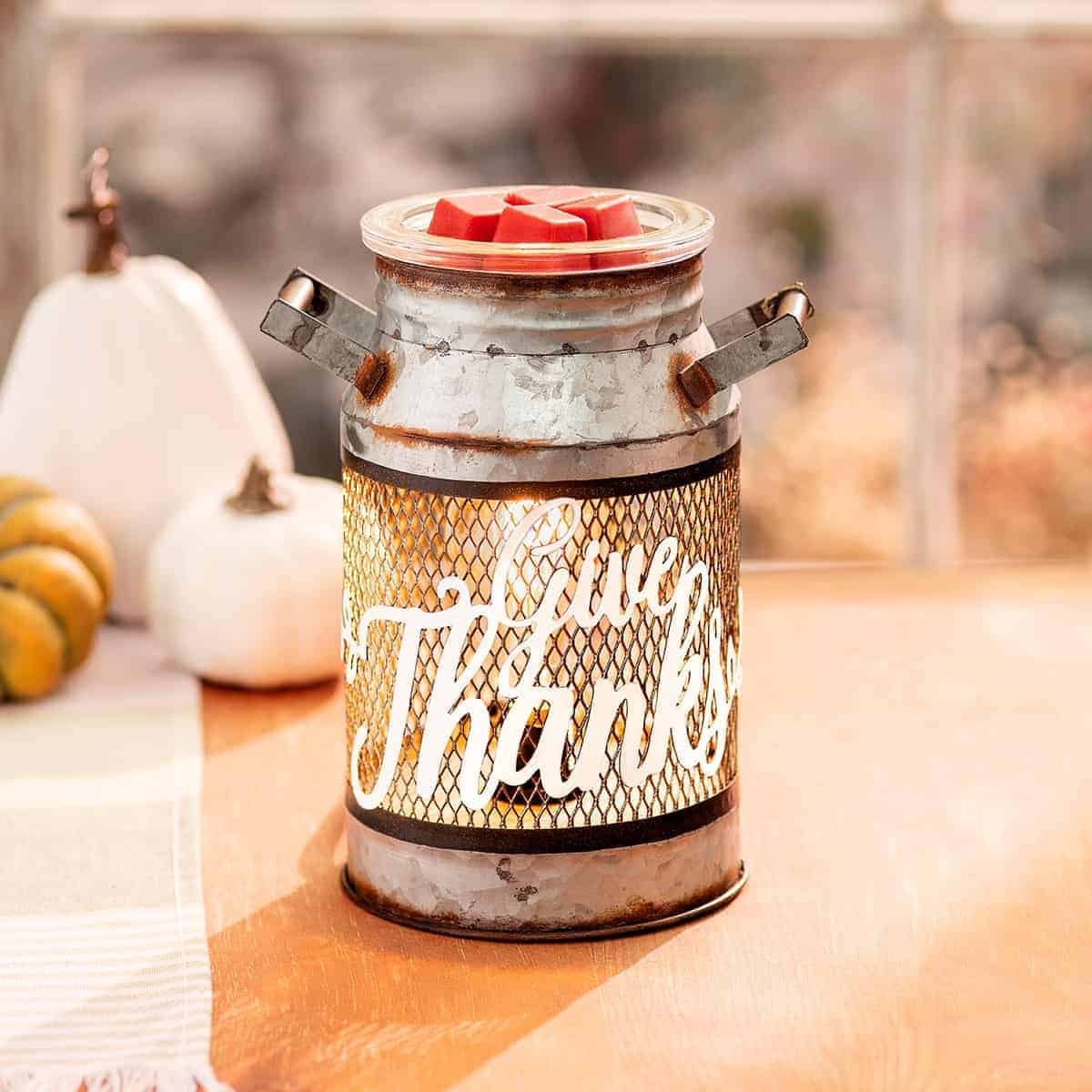 scentsy thanks can