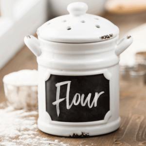 flour canister warmer