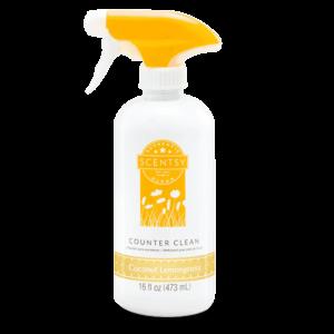 coconut lemon cleaner