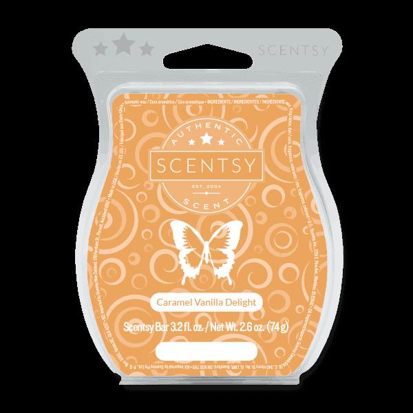 Caramel Vanilla Delight Scentsy bar
