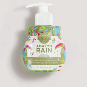 soap amazon rain