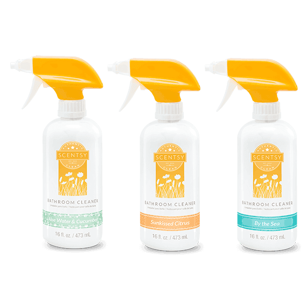 Scentsy 3 pack bathroom cleaner