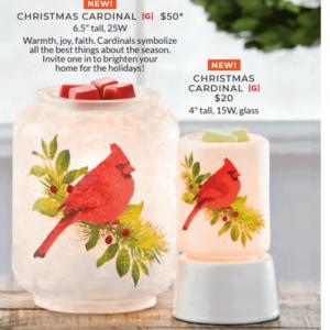 scentsy holiday bird