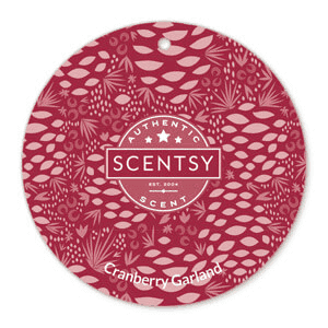 Cranberry Garland Scent Circle