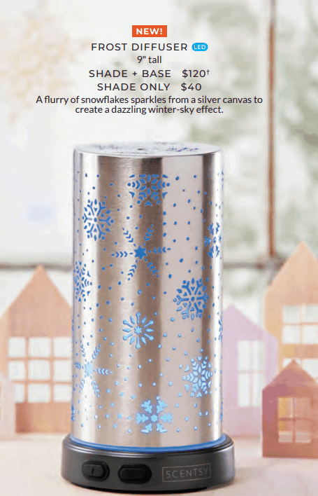 scentsy diffuser frost holiday