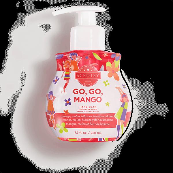 hand soap mango