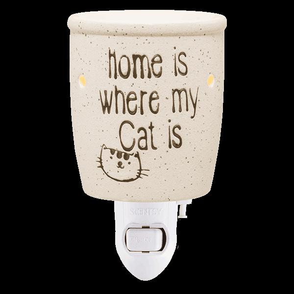 cat home nightlight