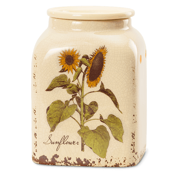 rustic warmer sunflower