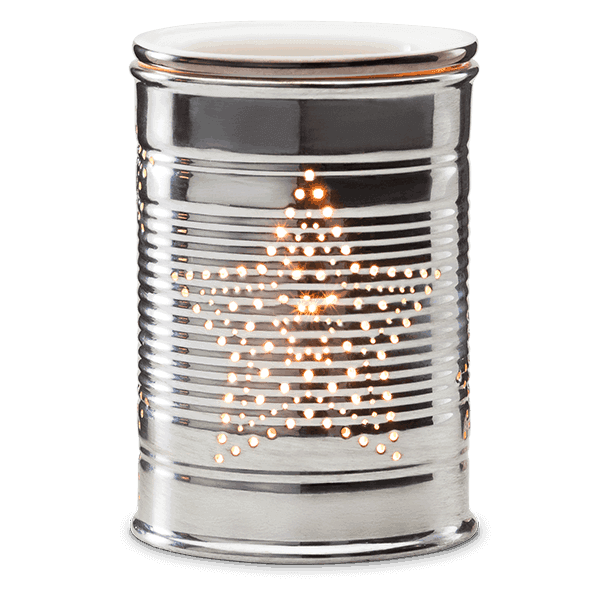 stars scentsy tin can