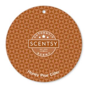 Honey Pear Cider Scent Circle