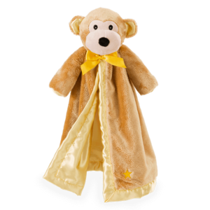 Moe Monkey Blankie Buddy
