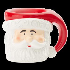 santa old mug