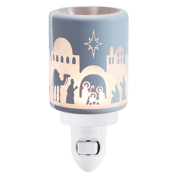 holy night glow mini scentsy warmer