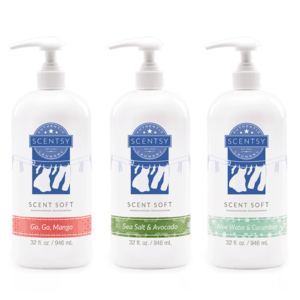 3 pack scent softs