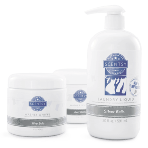 Scentsy silver bells laundry products