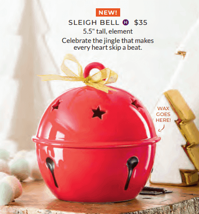jingle bell ornament warmer